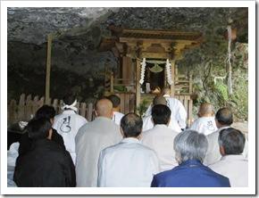 たばこ神社参道開通1