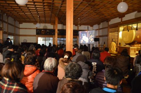 熊野薬師堂内の様子